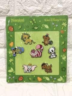 Disney 動物mini pins set 襟章