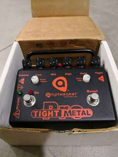 Amptweaker Tight Metal Pro guitar effects pedal