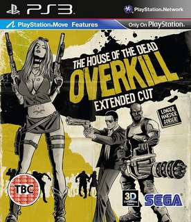 🚚 (New) House of the Dead, Overkill, Extended Cut (PS Move)
