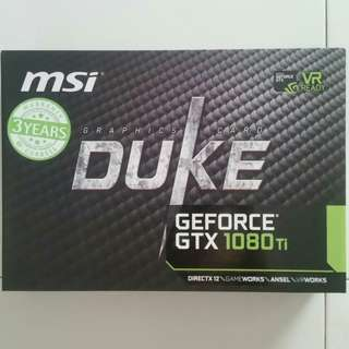 (PM!Cost Price Clear!)MSI GTX 1080Ti Duke 11G