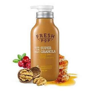 🍀BN AMORE Pacific Fresh Pop Honey Granola Shampoo 500ml
