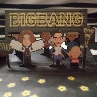 (OFFICIAL) BIGBANG POPUP CARD