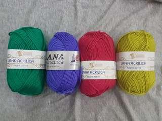 Yarn Strings Macrame Crochet Knitting 50g