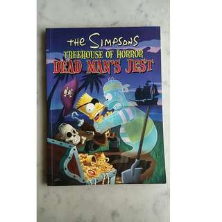 The Simpsons Treehouse of horror Dead man's jest Book