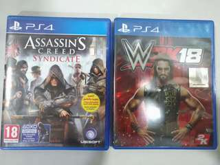 WWE 2K18 & AC SYNDICATE