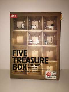 Five treasure box ft island 4th album
