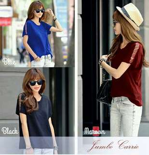 Blouse fit to XXL bigsize jumbo carrie