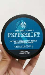 The Body Shop Cooling Foot Rescue - Peppermint
