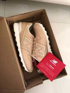 New Balance 996 Shoes 6.5 Womens Tan Leather Japan Release