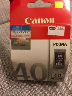 Canon Pixma PG-40 Black Ink