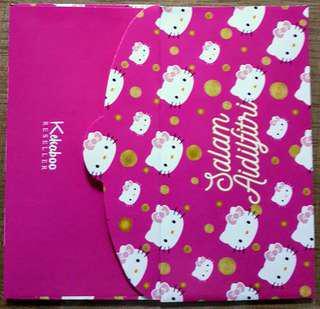Kekaboo Hello Kitty Sampul Duit Raya / Raya Packets