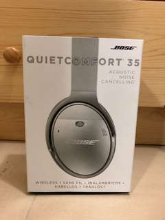 Bose Quiet Comfort 35 acoustic noise cancelling