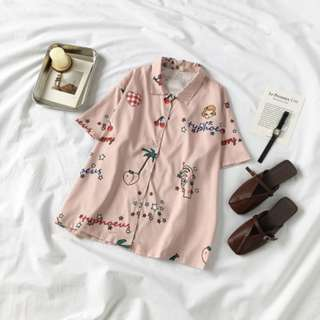PO Button up top