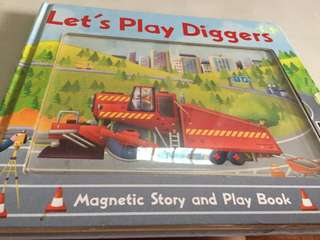 Let's Play Diggers (Magnetic story and play) book
