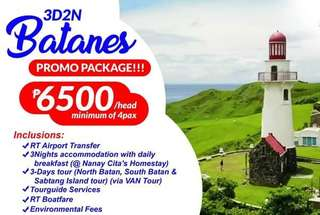 BATANES 4D3N TOUR PACKAGE