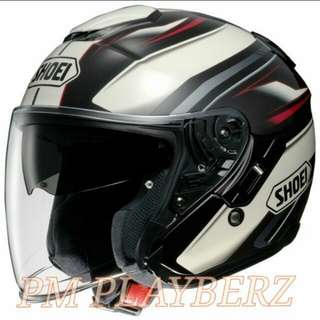 SHOEI J-CRUISE BLACK  PSB APPROVED