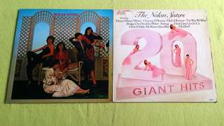 NOLAN SISTERS .  ~ / 20 giant hits. ( buy 1 get 1 free )  vinyl record