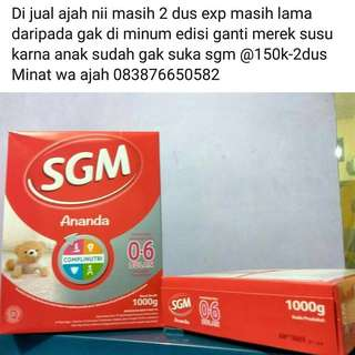 Susu SGM 0-6 bulan