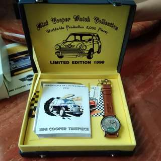 Mini Cooper Watch Collection Limited Edition 1996