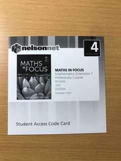 Maths in Focus Extension 1