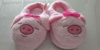 Sendal Piggy Pig Pink (FREE ONGKIR)