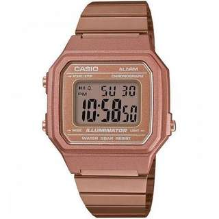 Casio Vintage B650WC-5A Rose Gold