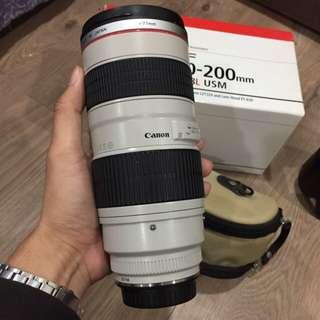 🚚 Canon 70-200 f2.8