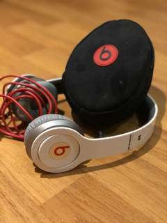 Beats By dr.dre Solo (white)