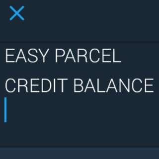 (urgent)ANYONE USE EASY PARCEL ?