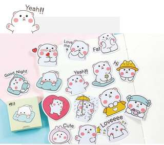 🚚 Kawaii Bears Scrapbook / Planner Stickers #150