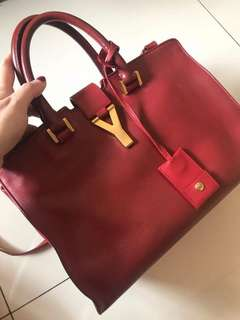 YSL bag with strap