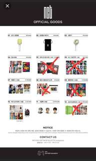 [FAST ORDER] NCT SM POP UP STORE OFFICIAL GOODS