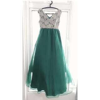 Max-Tino Green Dress Size M