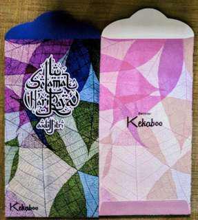 Kekaboo Qistina Sampul Duit Raya / Raya Packets