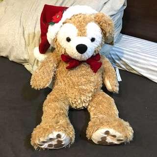 全新正品日本帶回Daffy達菲熊玩偶聖誕版