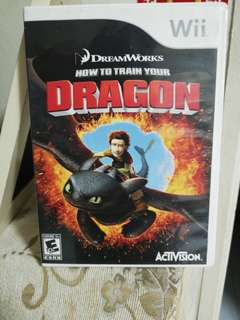 How to train your Dragon wii