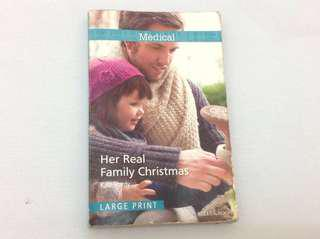 📚Her Real Family Christmas by Kate Hardy
