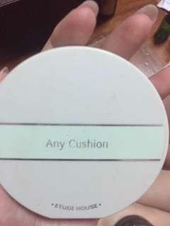 Étude house Any cushion Colour corrector (mint)
