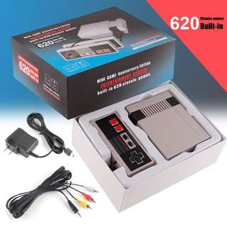 NES SFC Mini Classic Game Console Built-in 620 Games Xmas Gift
