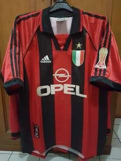 AC Milan home 1999 centenary jersey