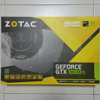 (In Stock)Zotac GTX 1080Ti AMP Extreme Core Edition
