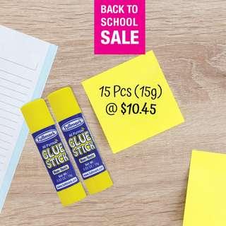 SALE! 15 Pcs (15g) Glue Stick (15g)