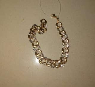 18k Bicolor Bracelet