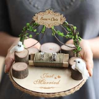 [PO] Customized Ring Holder - Solemnization/ Wedding Ring