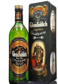 Vintage Glenfiddich Whisky