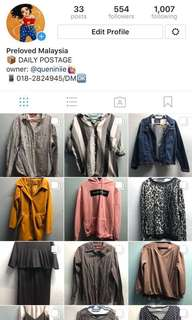 Visit my preloved ig