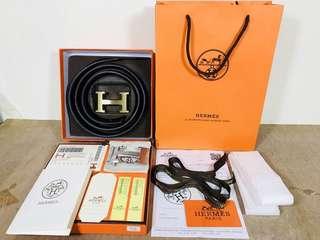 Gesper Ikat Pinggang Sabuk Belt Hermes Original 100%