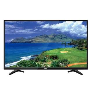 "#01 Ace 32"" Slim LED TV Black LED"