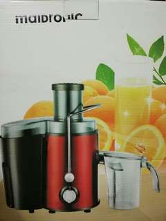 Slow juicer , red colour