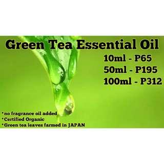 Green Tea Essential Oil (Certified Organic)
